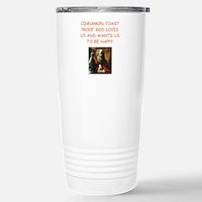 cinnamon toast Travel Mug
