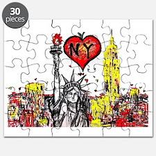 I love NY Puzzle