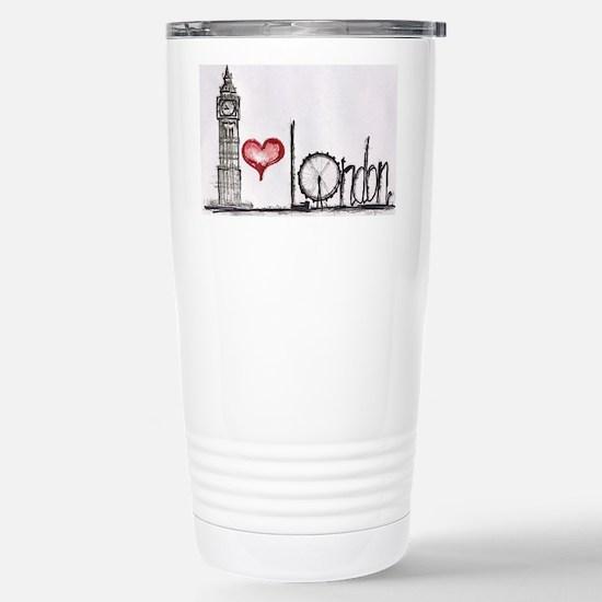 I love London Stainless Steel Travel Mug