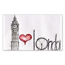 I love London Decal
