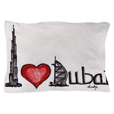 I love Dubai Pillow Case