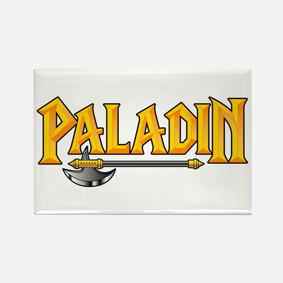 Paladin @ eShirtLabs.Com Rectangle Magnet
