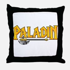 Paladin @ eShirtLabs.Com Throw Pillow