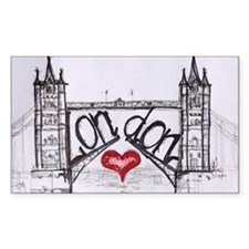 London with love Decal