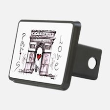 Paris with love  Hitch Cover