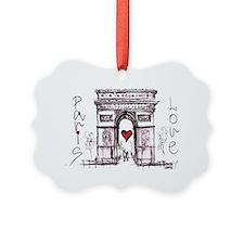 Paris with love  Ornament