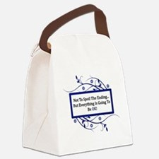 Everything Will Be OK Quote Canvas Lunch Bag