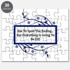 Everything Will Be OK Quote Puzzle