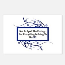Everything Will Be OK Quote Postcards (Package of