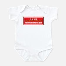 I'm the Typist Infant Bodysuit