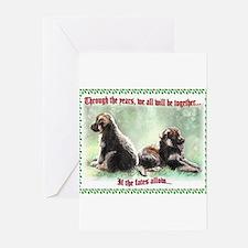 German Shepherd Pup Christmas Cards (Pk of 10) Gre