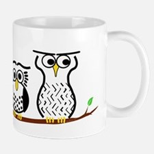Three Little Owls Mug