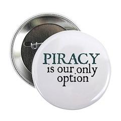 Jane Austen Piracy Button