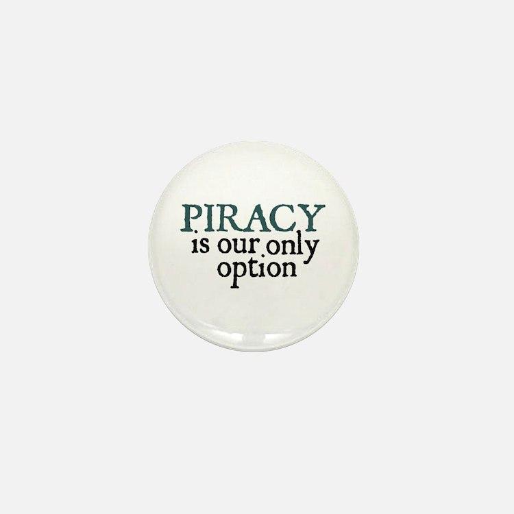 Jane Austen Piracy Mini Button