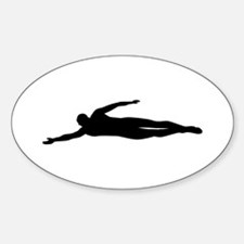 Swimming swimmer Decal