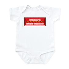 I'm the Videographer Infant Bodysuit