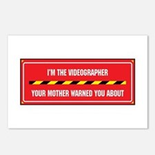 I'm the Videographer Postcards (Package of 8)