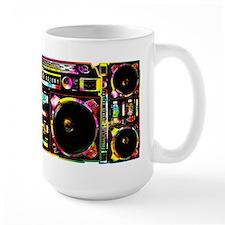 Colorful Boombox Mugs