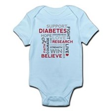 Support Diabetes Research Awareness Body Suit