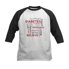 Support Diabetes Research Awareness Baseball Jerse