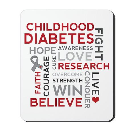 Childhood Diabetes Mousepad