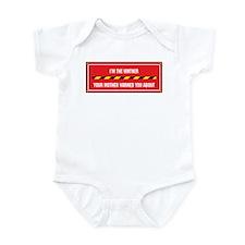 I'm the Vintner Infant Bodysuit
