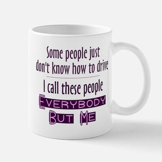 Bad Drivers (Purple) Mug