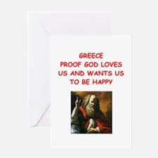 greece Greeting Cards