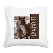 YSAH Square Canvas Pillow