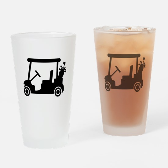 Golf car Drinking Glass