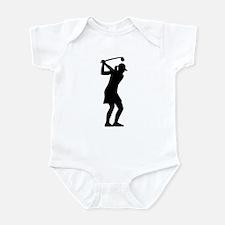 Golf woman Infant Bodysuit