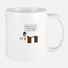 Company Policy Mugs
