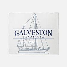 Galveston - Throw Blanket