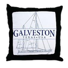 Galveston - Throw Pillow