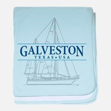 Galveston - baby blanket