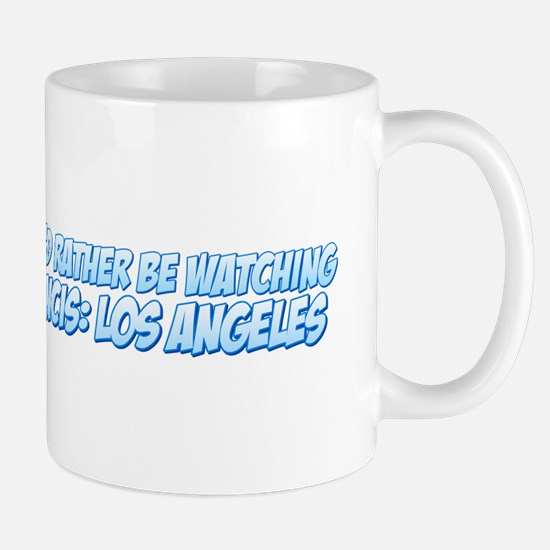 I'd Rather Be Watching NCIS: Los Angeles Mug