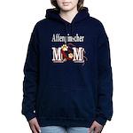 affenpinscher mom.png Hooded Sweatshirt