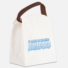I'd Rather Be Watching Numb3rs Canvas Lunch Bag