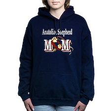 anatolian shepherd mom darks.png Hooded Sweatshirt
