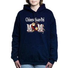 chinese shar-pei mom Hooded Sweatshirt