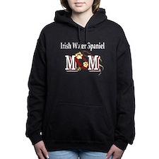 irish water spaniel mom darks.png Hooded Sweatshir