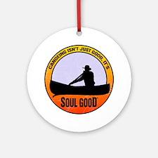 Canoe - Soul Good Round Ornament