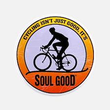 """Cycling Road Bike - Soul Good 3.5"""" Button"""