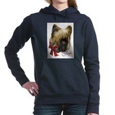 briard christmas joy rect2d.png Hooded Sweatshirt