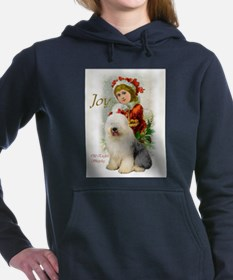 old english vintage 4.png Hooded Sweatshirt