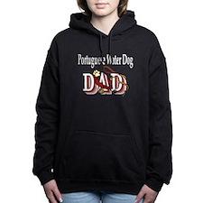 portie dad trans.png Hooded Sweatshirt