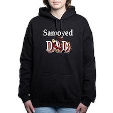 samoyed dad trans.png Hooded Sweatshirt