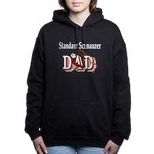 standard schnauzer dad trans.png Hooded Sweatshirt