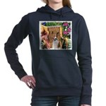 Basenji Garden 4.png Hooded Sweatshirt