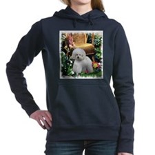 bichon frise summer final2r2.png Hooded Sweatshirt